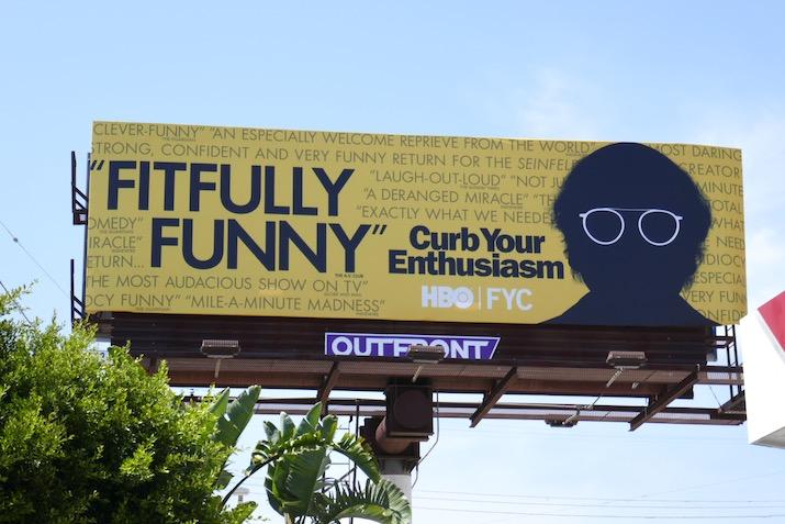 Curb Your Enthusiasm 2020 Emmy FYC billboard