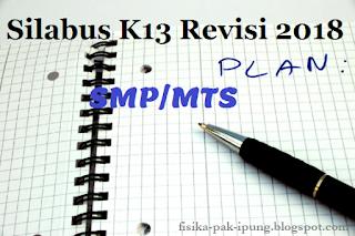 Silabus K13 SMP/MTS Kelas 7 8 9 Revisi 2018 Lengkap