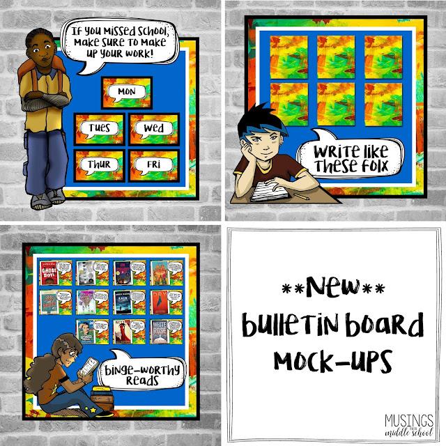 Bulletin Board Mock-Ups