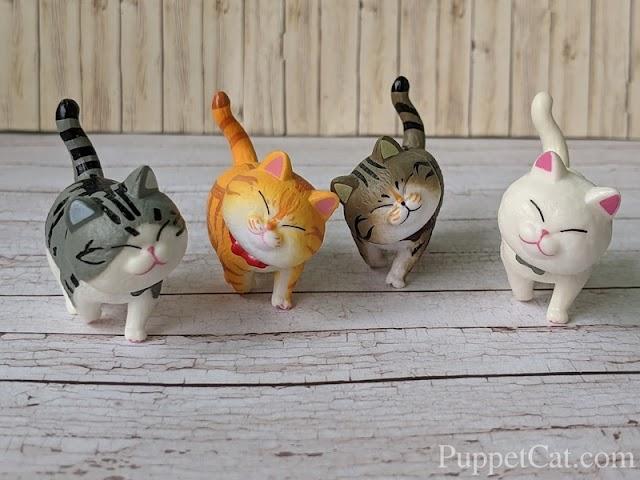 Обзор миниатюрных фигурок котиков с АлиЭкспресс