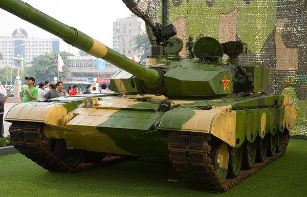 Китайский основной боевой танк Тип 99