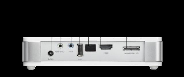 cổng kết nối máy chiếu vivitek