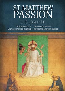 Bach: St Matthew Passion - Scherzo, The Strand Consort, Mozaique Baroque Ensemble, Matthew O'Keeffe