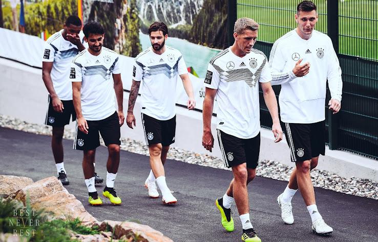 8b06c4589b1 Adidas x Mercedes Germany 2018 World Cup Jerseys Revealed - Footy ...