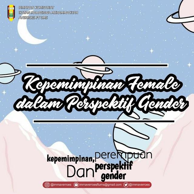 Kepemimpin Female dalam Perspektif Gender