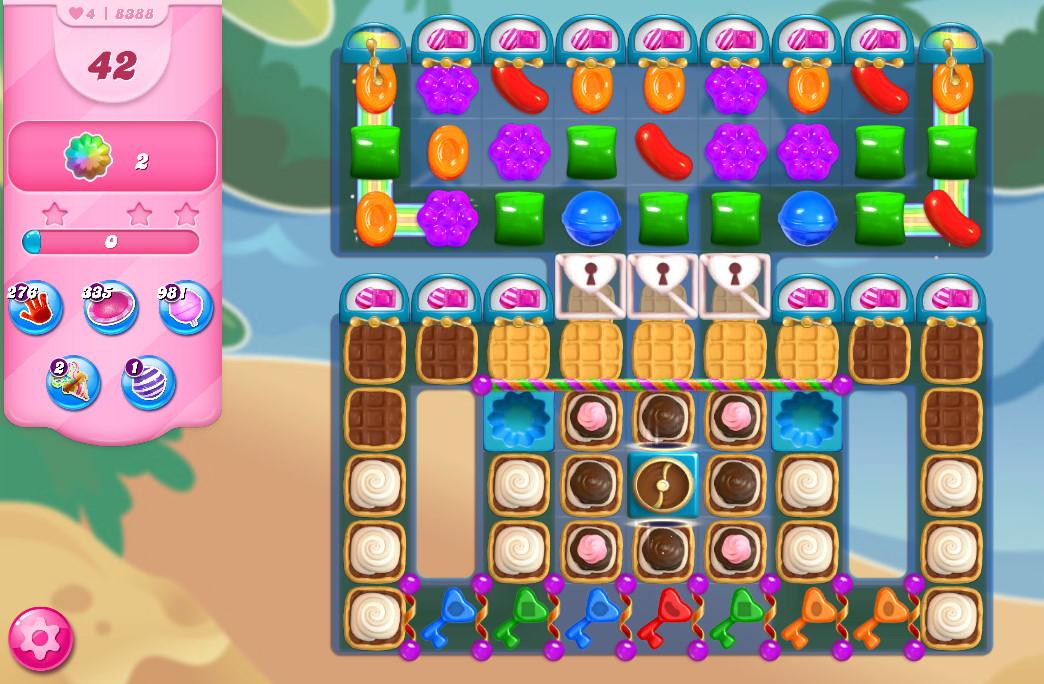 Candy Crush Saga level 8388