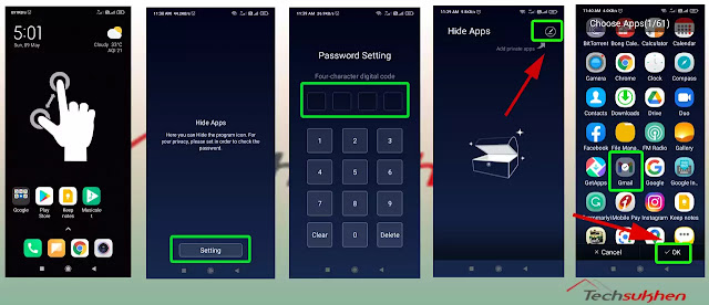 how to hide app in vivo easily without Disabling [100% working method]