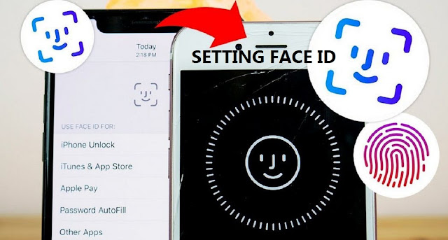 Setting up Face id on iPhone