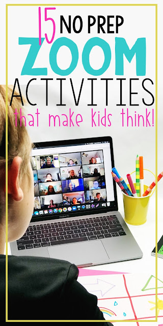 Zoom Activities that students love! 15 fun and creative activities for video conferencing platforms. Students can play the games at the beginning of class or as a virtual classroom closure.
