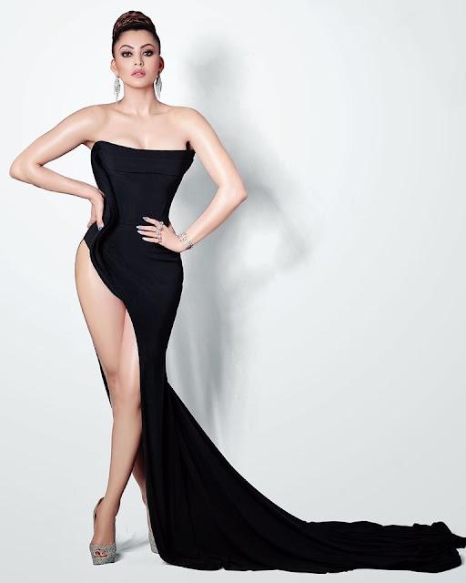Urvashi Ratuela Black Dress