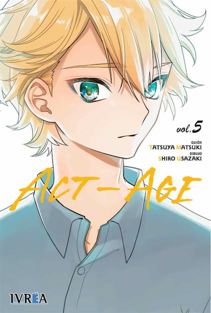 Manga: Ivrea cancela la publicación de ACT-AGE