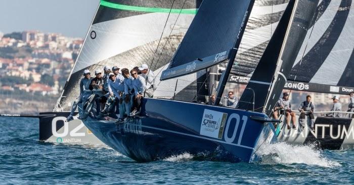 Tp52 superseries - azzurra consolida la sua leadership alla cascais cup