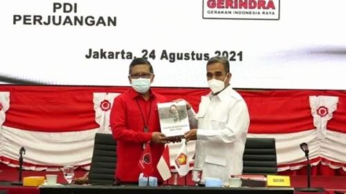 Jajaki Koalisi Pilpres 2024, Pertemuan PDIP dan Gerindra Mengarah Perjanjian Batutulis Jilid II