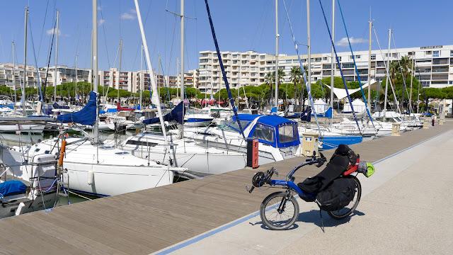 De Paris à Narbonne en vélo, Carnon