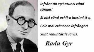 Maxima zilei: 2 martie - Radu Gyr