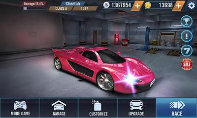 Game Furious Car Racing mod Apk Latest update Full Version Android Terbaru