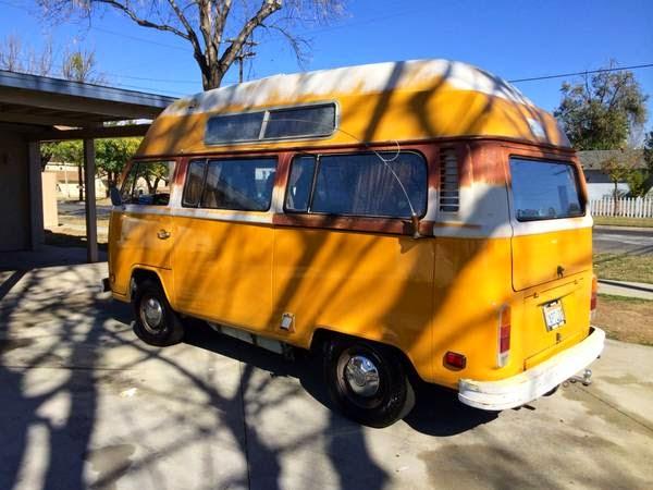 rvs  volkswagen  high top campervan  sale