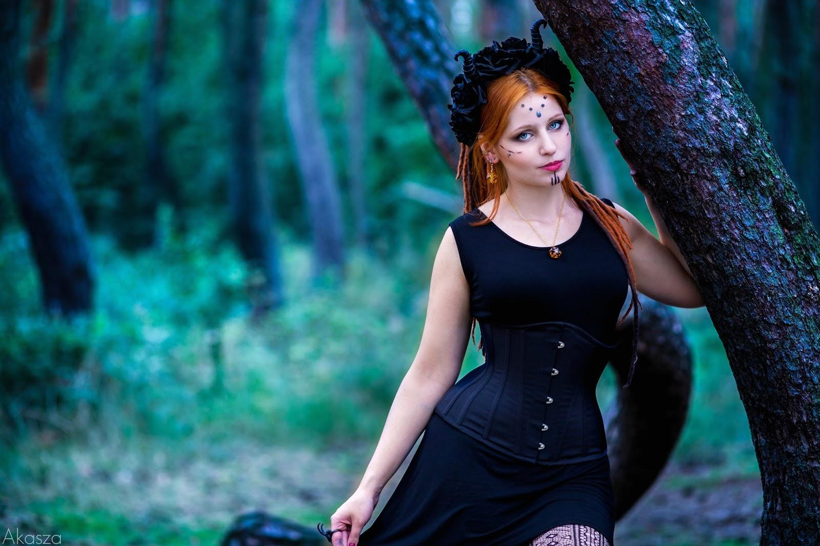 Wiedźmy w lesie część 2 - portrety.