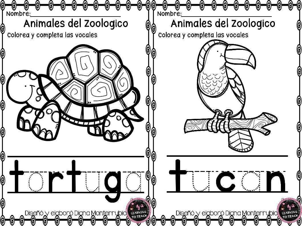 IMAGENES PARA EDUCACION: Animales del zoológico