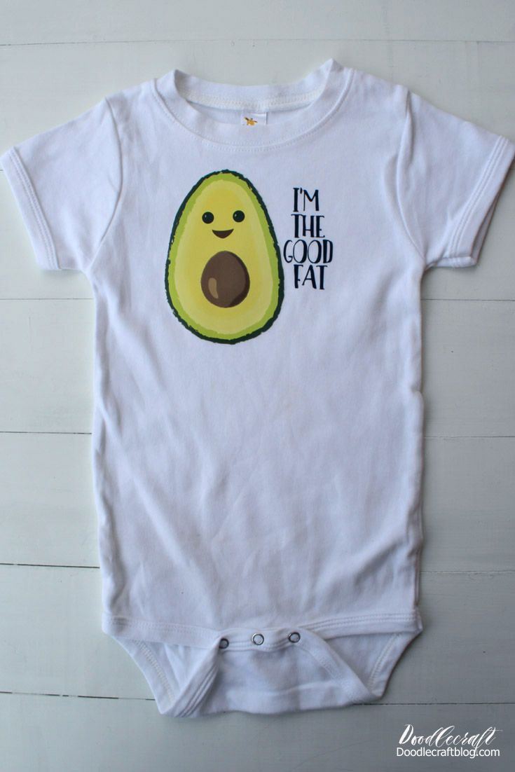 1f4f5477c Great for a baby shower, gift or just for the cutest baby on the planet.  Avocado's are the greatest food and have become such a trend!