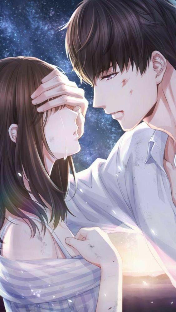 Wallpaper anime romantis android