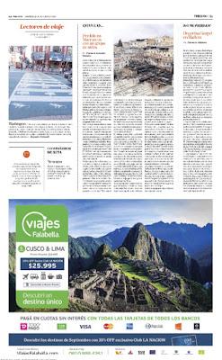 Diario La Nación 23 de octubre, 2016 - Florencia Gonzalez Bazzano