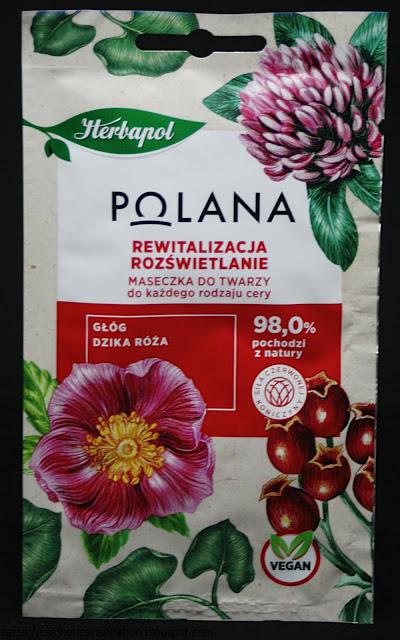Herbapol - Polana - Rewitalizująco - rozświetlająca maseczka do twarzy