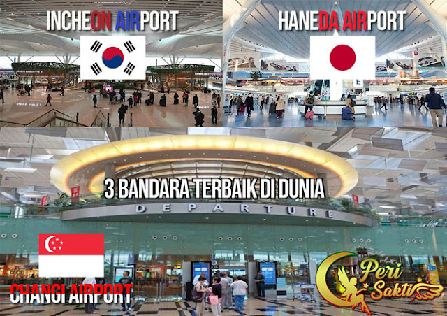 3 Bandara Ini Terbaik di Dunia