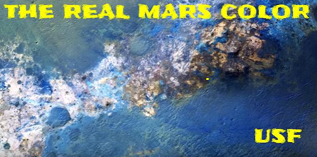 The real colors of Mars will shock you because it's in color not orange or red.