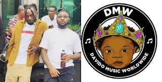 Davido Signs May D , Davido, May D, Into his record label DMW