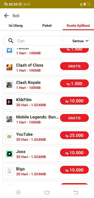 Cara Gratis Kuota Aplikasi Indosat OOREDOO 2018
