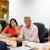 Em reunião na Sesab, prefeito Dinha conversa sobre Policlínica de Simões Filho