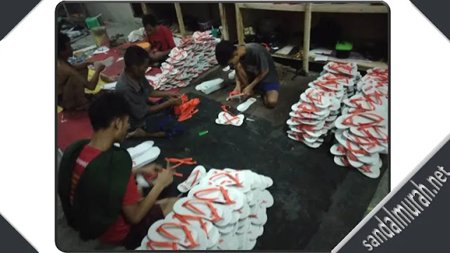 produksi sandal