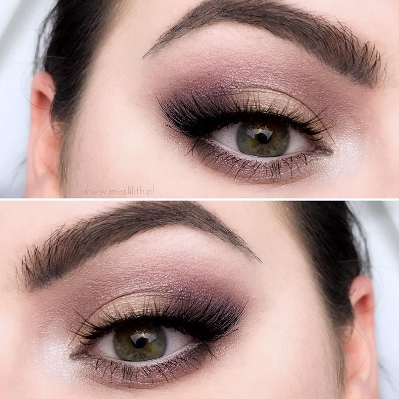 makijaż paletą Zoeva En Taupe blog opinie