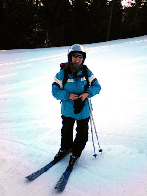 Me on the ski slopes