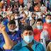 Sin barbijos y sin distanciamiento, Evo inaugura congreso campesino en pleno pico de la pandemia en Cochabamba