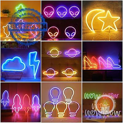 Đèn led trang trí neon