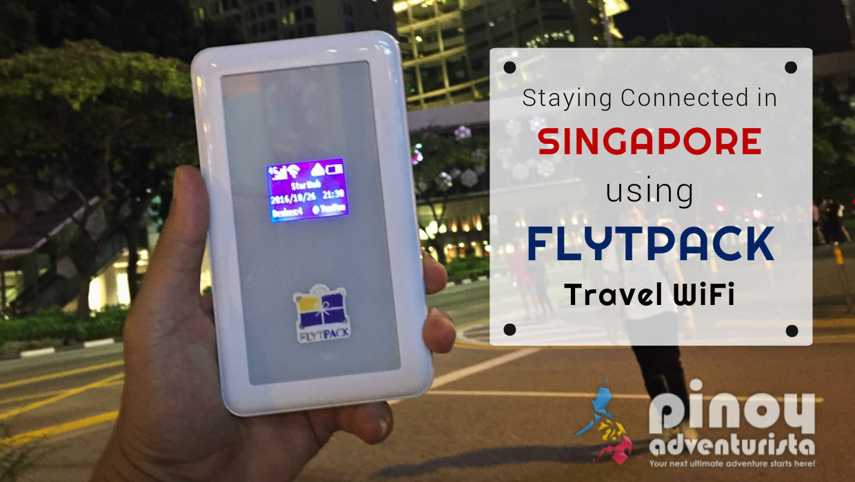 How I stayed Connected in Singapore using FlytPack Travel WiFi