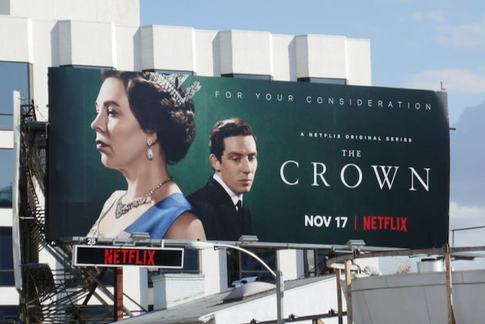 Crown season 3 FYC billboard