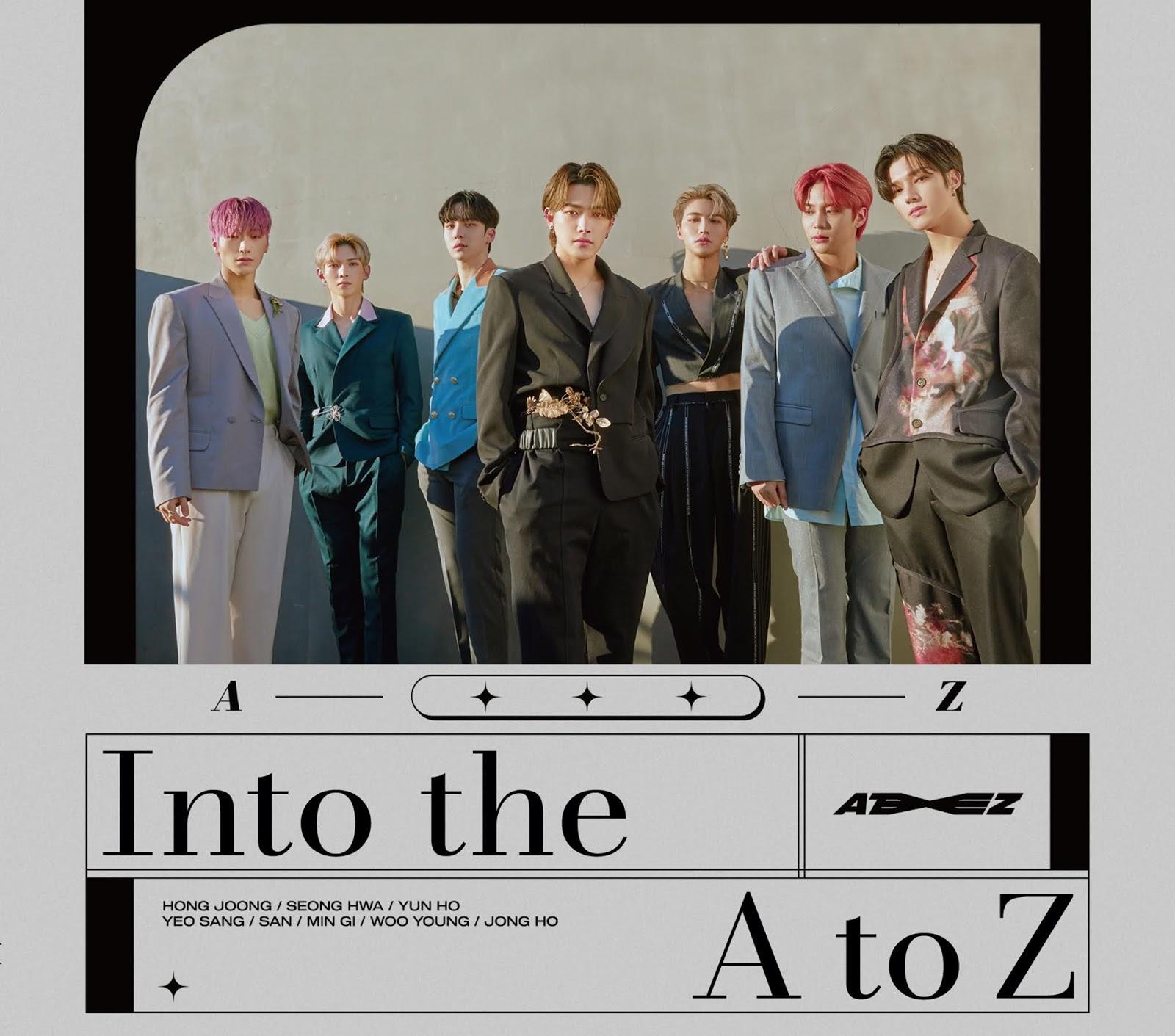 ateez comeback japon 2021