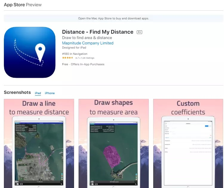 distance - find my distance app for iphone and ipad