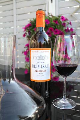 Bordeauxblendiä lehtipihville, Viinihetki