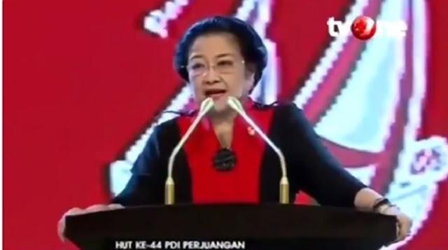 Tagar #MakzulkanJKWBubarkanPDIP Trending, Netizen Unggah Pidato Megawati Peras Pancasila jadi Trisila