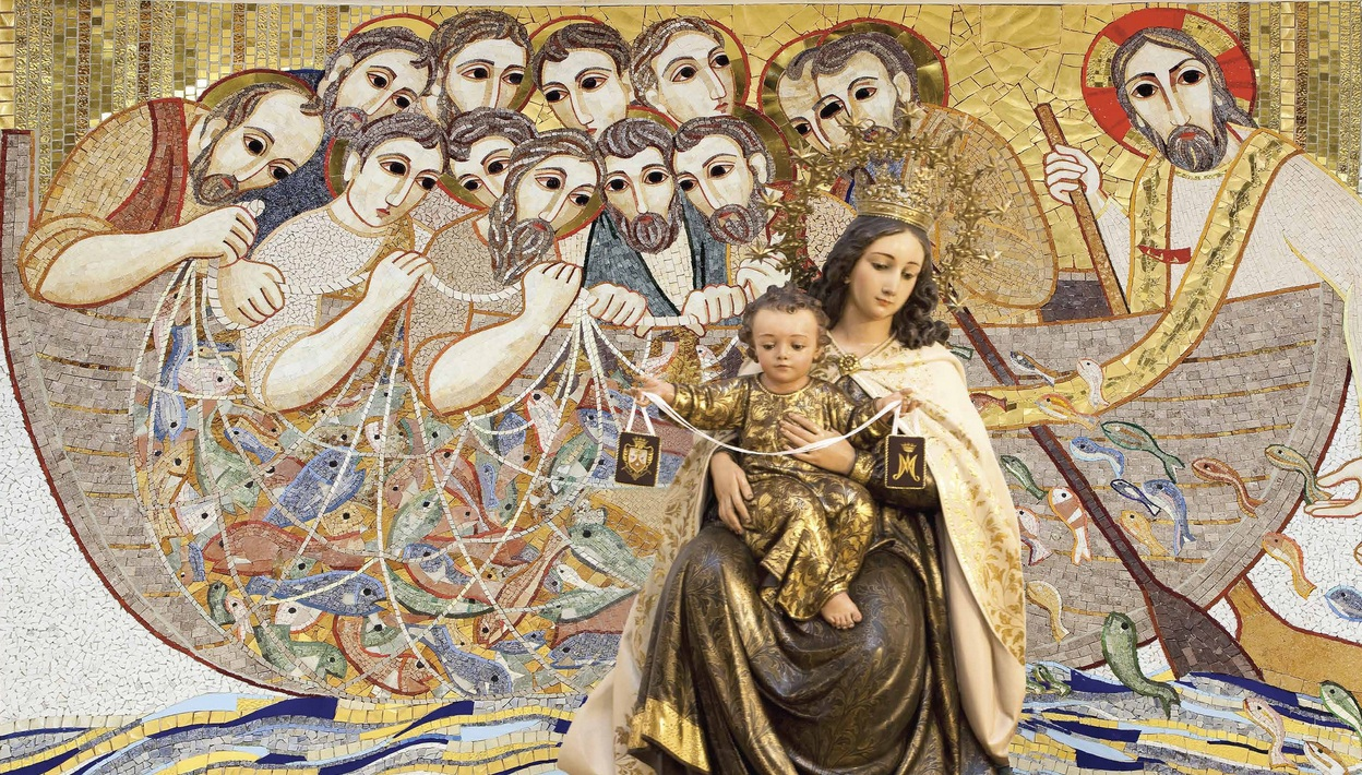 grande Virgen condón en Barcelona