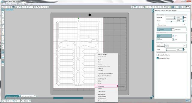 Come utilizzare i file dxf nella modalità Print & Cut | Silhouette Cameo 4