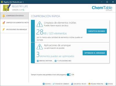 Limpieza fiable y eficaz del registro de Windows