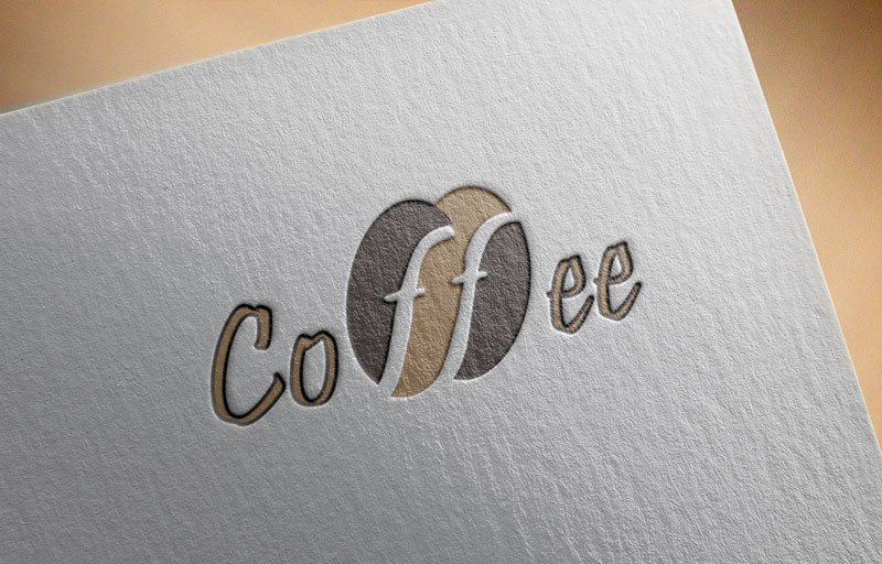 Download Free Logo Coffee Bean for Cafe