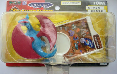 Salamence Tomy Data Carrier Pokemon Figure Stage Set