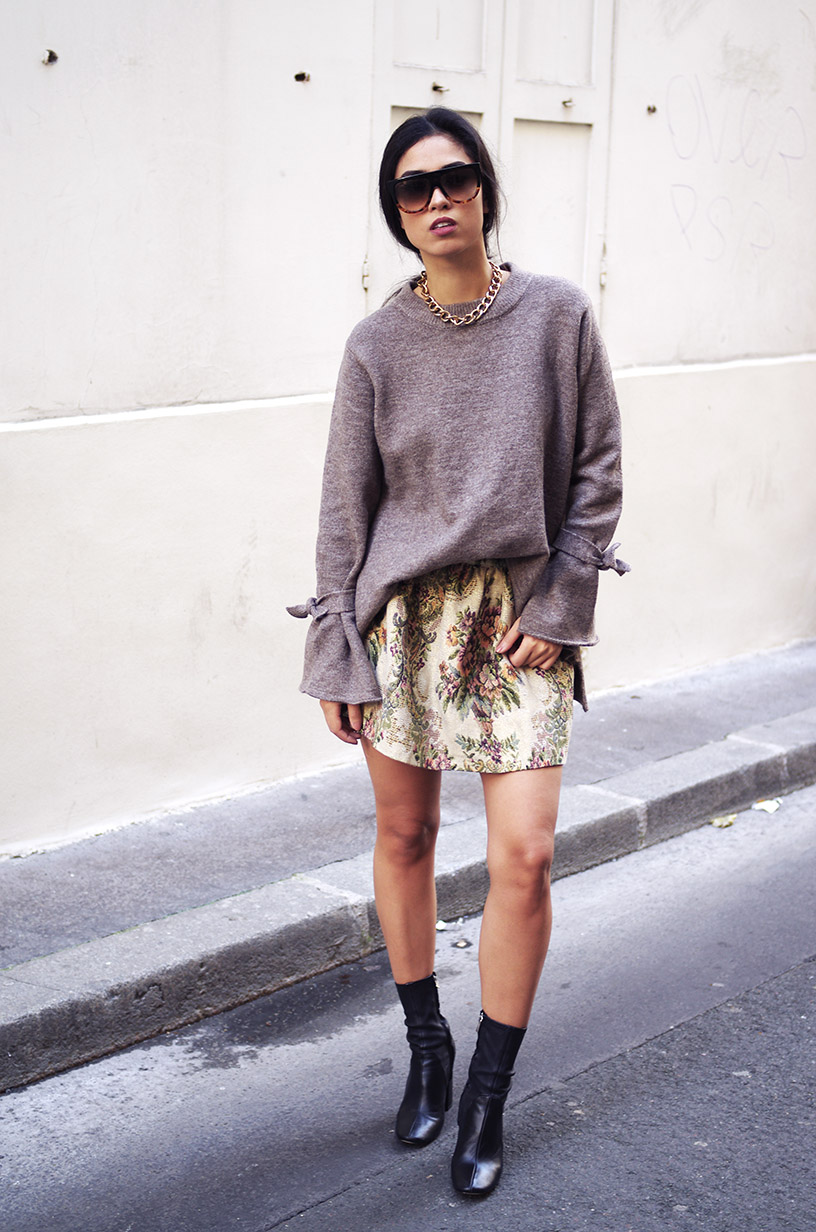 Elizabeth l Fall in a skirt outfit l Asos Zara l blog mode l THEDEETSONE l http://thedeetsone.blogspot.fr