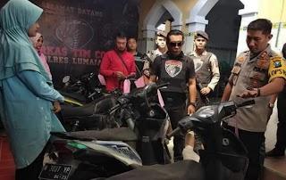 Polres Lumajang, Operasi Motor Bodong: Putus Mata Rantai Begal